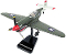 In Air E-Z Build Scale Model Kit Smithsonian P-40 Warhawk Item #IN-EZP40